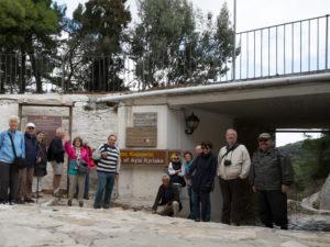 Apeiranthos, départ pour Hagia Kyriaki