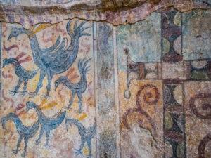 Hagia Kyriaki, détail du décor aniconique