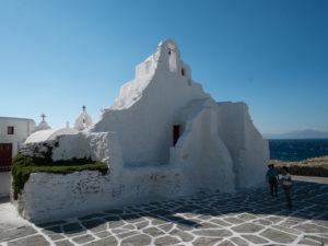 Mykonos, Eglise de Paraportiani