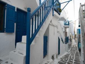 Mykonos, ruelle typique