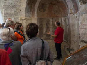 Naxos, Panayia Drosiani, explications de notre guide